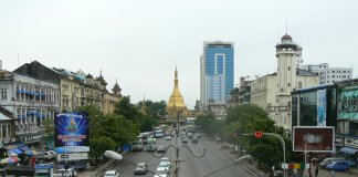 Yangon in 2010, photo Michal Lubina
